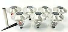 Hampton Bay Solar Stainless Outdoor LED Landscape Path Lights INCOMPLETE