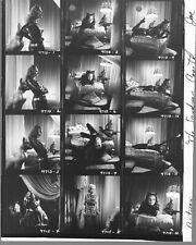 BATMAN 1966  CATWOMAN JULIE NEWMAR  8X10  BW CONTACT SHEET