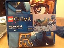 New lego Chima twin size fitted sheet pillow case set