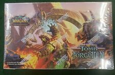 World of Warcraft TCG Tomb of the Forgotten SEALED Booster Box Cryptozoic German