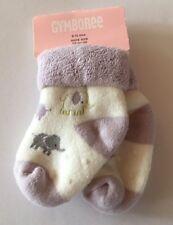 NWT Gymboree Polka Dot Elephant 6-12 Months Lavender Terry Socks