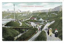 Clarence Gardens - Scarborough Photo Postcard c1908