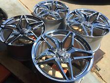 GM Chrome 2019 ZR1 Corvette Wheels 19x10.5 20x12 Fits 2015-2019 Z06 Grand Sport