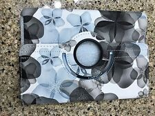 Mini iPad Case iPad 2 3 4 Leather Blue Floral Case
