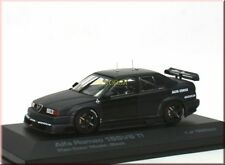 Alfa Romeo 155 V6 TI Plain Body Color Model schwarz black - HPI Racing 8046 1:43