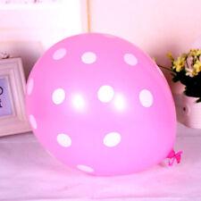 "10,20pcs  12"" Latex Polka Dot Balloon Party Wedding Birthday Party Decorating"