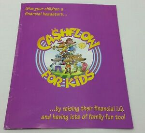 Cashflow For Kids Replacement Instruction Booklet Rules Game Pieces Parts 1999