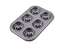 Moule à muffins, moule à 6 mini muffins plaque de 6 moules à muffins 27 cm x 19