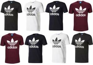 Adidas Originals Mens Trefoil Short Sleeve T Shirt Leisurewear