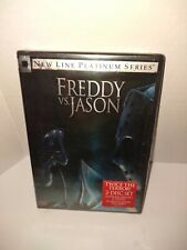 Freddy vs Jason (Dvd, 2003) Brand New 2 Disc Edition Sealed