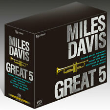 ESOTERIC SACD Miles Davis Great 5 Super Audio Hybrid BOX SET Ltd. NEW Japan