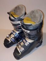 Womens Salomon Rush Ski Boots  Size 23.5 US 6 EU  37.5 Uk 4.5 Ladies Blue