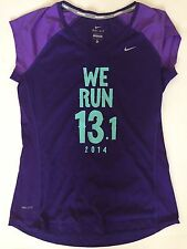Nike 2014 SF Half Marathon 13.1 Women's M Medium Purple San Francisco