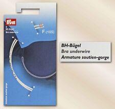 Prym 1 par sujetador aro talla F (105) para Reparación y Autocosido 991821