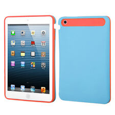 For Apple iPad Mini TPU Candy HYBRID GLOW Case Phone Cover Blue Orange accessory