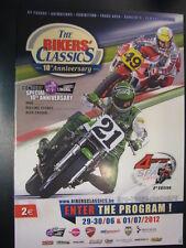 Off. Program The Bikers' Classics Spa-Francorchamps 2012