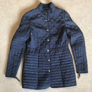 Noa Noa Grey Blue Womens Jacket Coat Size XS
