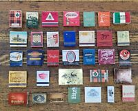 RARE Vintage Antique Strike Matches Matchbooks 1920s-1980s Packs Lot ☆USA