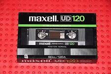MAXELL UD  120  VS. II    BLANK CASSETTE  TAPE  (1) (SEALED )