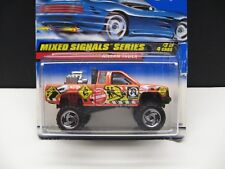 1998 Hot wheels Mixed Signal Series Nissan Truck - Bubble is loose