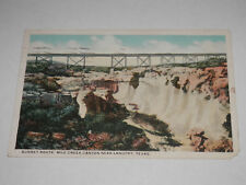 LANGTRY TEXAS - 1926 POSTCARD - SUNSET ROUTE MILE CREEK CANYON