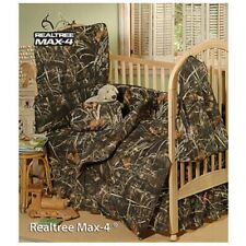Realtree Max-4 Crib Skirt, Baby Dust Ruffle