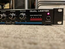 Mxr 136 Dual Limiter Rack Unit - recapped, sounds great