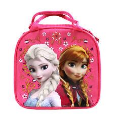 Brand New Dsney Frozen Elsa Hot Pink School Lunch Box Bag & Water Bottle