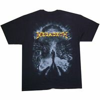 "MEGADETH ""ATOMIC BLAST"" VIC IMAGE BLACK T-SHIRT NEW OFFICIAL ALL SIZES"