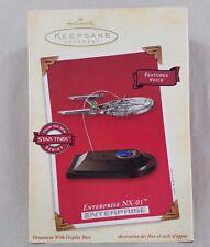Enterprise NX-01 - Hallmark Keepsake Ornament 2002 - Pewter and Handcrafted