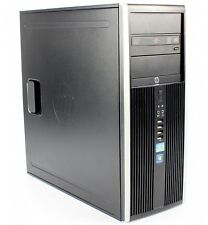 HP Elite 8200 Miditower PC Intel Core i7-2600@3,4GHz 8 GB RAM 500GB HDD USB2 DP