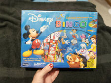 Disney DVD Bingo Family Game with Disney Clips 100% Complete