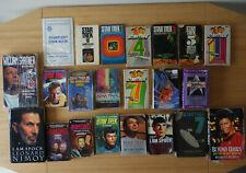 More details for star trek books job lot x 22 vintage, ad.j blish impressive set ~ for charity 😇