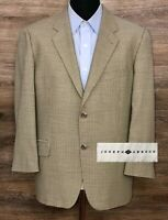 Joseph Abboud Men's Wool Houndstooth Two-Button Blazer Sport Coat Jacket USA 42S
