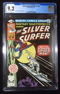 Fantasy Masterpieces Silver Surfer #14 CGC 9.2..Spider-Man.(rare in high grade)