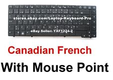HP Probook 6440B 6450B 6455B Keyboard -  CF Canadian French - Mouse Pointer
