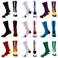 Mens Compression Calf Socks Athletic Basketball Knee High Comfortable w/ Design