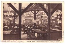 """AK, Hamburg, Spielbudenplatz, Gaststätte """"Zillertal bleibt Zillertal"""", 1931"""