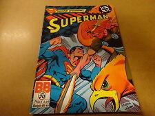 COMIC BALDAKIJN DC / SUPERMAN N° 20