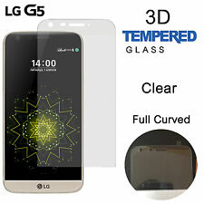 Gorilla 3D Full Coverage Curved Tempered Glass Screen Protector For LG G5 -CLEAR