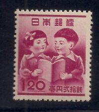 Japan  1948  Sc # 406  Children   MNH   (49202)