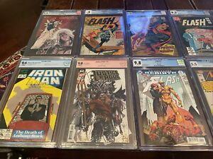19 CGC/ 4 CBCS/ 1 PGX Slabbed Comics Lot!