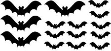 Pipistrelli Set di 15 Auto Camper Finestra Paraurti SCOOTER Laptop chitarra Sticker Halloween