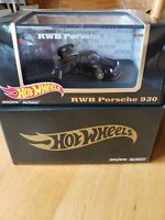 2020 HOT WHEELS RLC EXCLUSIVE RWB Porsche 930 w/ Akira Nakai Figurine. IN HAND