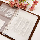 Cutting Dies Stencil Template Collect Binder Loose-leaf Leather Cover Book