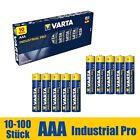 AAA Batterien VARTA Industrial Pro Micro LR03 1,5V MHD 2030 10 - 100 Stück