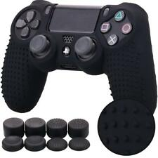 PS4 Silicone Controller Case Cover Skin Studded Anti Slip Thumb Grips Gaming DIY