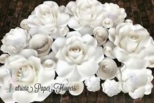 Paper Flowers Backdrop set of 24 items