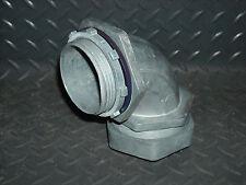 2-1/2 Inch Sealtight Cast Aluminum 90 Degree Elbow Fitting