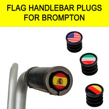 FLAG Handlebar Plugs for BROMPTON